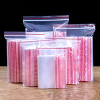 Gift Wrap 100pcs High Clear Small Plastic Gifts Jewelry Zip-lock Bag Reclosable Nail Powder Hardware Bracelets Beads Spice Trial Pouches