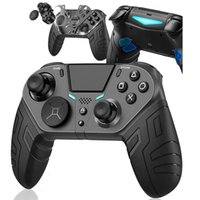 Wireless Game Controller For PS4 Elite Slim Pro Console For Dualshock 4 Gamepad With Programmable Back Button Support PC Y1013