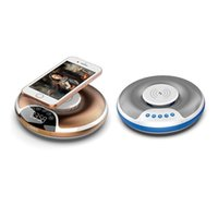 Creative Smart Bluetooth Speaker Wireless Charging Induction Card Audio Portable Speakers
