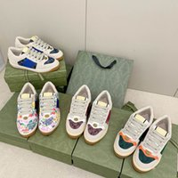 2021 Designers Chaussures Luxe 1997 G Multicolor Rhyton Femmes Hommes Sneakers Entraîneurs Vintage Chaussures Dames Casual Shoe Designer Sneaker Clunky