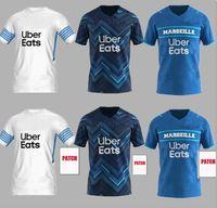 Jersey de football olympique de Marseille 2021 2022 om Marseille de Maillot Foot Payet Thaauvin Benedetto Polo Jerseys 21 22 Marseille Milik Shirt
