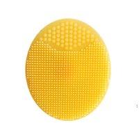 Pennelli esfolianti viso infantile bambino morbido silicone lavaggio in silicone viso pulizia pad pelle spa bagno scrub strumento pulitore owe5691