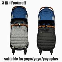 Baby Stroller Warm Footmuff Windproof Sleepsack For Yoyo Yoyaplus Bugaboo Bee3 5 Baby Stroller Accessories Winter Sleeping Bag