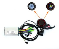 250 / 350W 전기 스쿠터 LCD 디스플레이 및 엄지 스로틀 전기 브러시리스 허브 모터 컨트롤러 컬러 LCD 화면 표시기