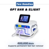 DHL free ship ipl rejuvenation elight skin care beauty equipment opt shr permanent fast hair removal machine
