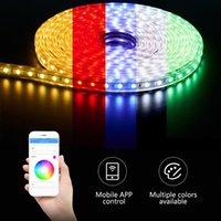 Strips RGB Led Strip Phone Bluetooth APP TV Background USB 5V Music Smart Living Room Ceiling Colorful Home Decor