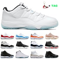 Low Legend Blue 11s jumpman basketball shoes for men women 1...