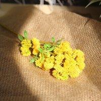 Faux الأزهار المساحات الخضراء 5 اللون ريال اللمسة لينة المطاط الأرز الاصطناعي تساي الكرة الفاكهة الكوبية محاكاة زهرة النباتات النضرة 2022 v2