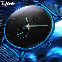 디자이너 시계 브랜드 시계 럭셔리 시계 비즈니스 남자 탑 방수 캐주얼 간단한 쿼츠