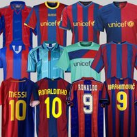 82 84 91 92 96 97 98 99 Barcelona camisas de futebol Retro 04 05 06 07 08 09 10 11 12 14 15 Jersey Barca MESSI RONALDINHO RONALDO GUARDIOLA camisa de futebol RIVALDO