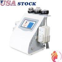 États-Unis Suppression de graisse de graisse Vacuum de cavitation ultrasonique minceur corps de machine de désintoxication lymphatique