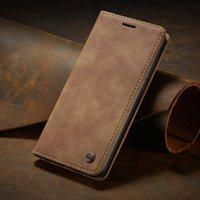 Luxury Flip Cover для Samsung Galaxy S20 Plus Ultra A51 A71 A81 A91 Подлинная реальная кожаная кожаный кошелек
