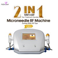 4 in 1 fractional RF golden microneedle radiofrequency beauty machine derma micro needle skin roller face lift devices home use MRF handle with 15 needle-tips