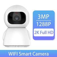 2K 1288P Mini Indoor Wireless Security Wifi IP Camera Home CCTV Surveillance Smart home Camera wifi 3MP Auto Tracking 360