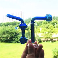 4 'Recycler Smoking Glass Pipes with 10mm Male Adapter and Silicone Tube for Water Hookah Shisha