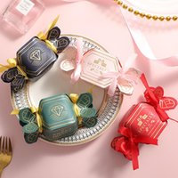 Gift Wrap Candy-shaped Candy Box Wedding Favors And Gifts Boxes Candies Bags For Guests Baby Shower Birthday Decoration Party Supplies