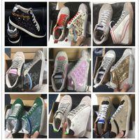 إيطالي ستار القديم الأحذية القذرة منتصف الشريحة نجمة سوبر جلدية رياضية عارضة للرجال والأحذية أحذية أفضل جودة
