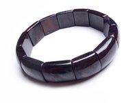 Bracciali di rettangolo perline perline per le donne Lady Genuine Natural Sugilite Stone Braccialetto Braccialetto Braccialetto Braccialetto, Fili