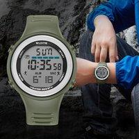 Relógios de pulso Wlisth Moda Relógio À Prova D 'Água Menino Menino LCD Digital Cronômetro Digital Data Esporte de Desporto Montre Despeje a entrega rápida de homme
