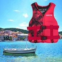 Life Vest & Buoy Outdoor Swimming Boating Skiing Driving Neoprene Jacket Adult Kids Fishing Kayaking Surfing Drifting