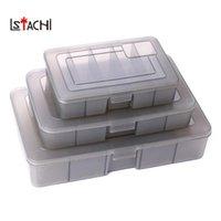 Vissen Accessoires Lstachi 3 Modellen Fiting Tackle Box Plastic Grote Medium Kleine gereedschappen Opslag