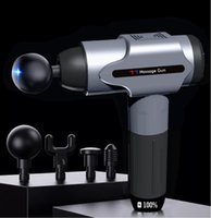 Massage Gun Fascia Deep Tissue Muscle Relax Body Massager For Pain Relief Fitness Shaping
