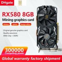 XINGKE Оригинальная аутентичная горная графическая карта Новый RX 580 8GB 300 000 вычислительная мощность 256bit 2048SP GDDR5 подходит для игрового офиса AMD NVIDIA