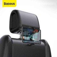 Montaje del reposacabezas del asiento trasero de Baseus para iPad 4.7-12.9 pulgadas 360 Rotación Universal Tablet PC Auto Car Soporte de teléfono