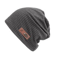 Balık Kemik Logo Ile Beanies erkek Cap kadın Şapka Bonnet Saten Pamuk Örme Güz Kış Rahat Kpop Skullies