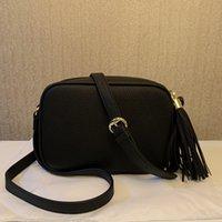 Borsa di moda femminile Famoso Brand Brand Designer Shoulder Womenbag Tassel Soho Borse da donna Nappe di Litchi Profilo Womens Messenger Menbags 308364