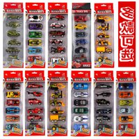 Cars Children's alloy car toy model boy girl baby mini police inertia sliding