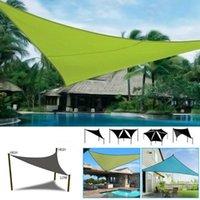 Tents And Shelters UV Block Shade Sail Shelter Awning Fabric Waterproof Sunshade Cloth Canopy Outdoor Sunscreen Patio Garden Balcony