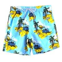 H.a.sueno Style de vacances Style Plage Pantalons Male Méan-soleil Loisirs Heure de loisirs Shorts Surfs Surfs Réchage rapide Dry Loose Fit Longueur des hommes
