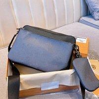 3 шт. Человек Messenger Bag Luxurys Дизайнеры Сумки Мужчины Crossbody Унисекс Бизнес-Плечо Портфель Мужчин