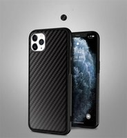 Luxury carbon fiber Soft TPU phone cases for iphone 12 11 Pro X XR XS MAX 7 8 plus Fashion Man woman cover