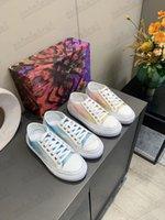 Strellar Sneakers Designer Designer Mesh Shoes Shoes Monograms Pattern Gradiente Color Effect Trainer Runner Sneaker Suola in gomma