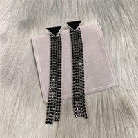 2021 Womens 삼각형 술 귀걸이 패션 여성 Luxurys 디자이너 귀걸이 편지 스터드 귀걸이 커플 선물 고품질