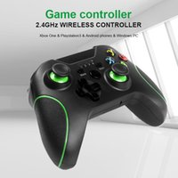 1pcs 2.4G Wireless Gamepad Switch Controller Controller Portable Joystick per Xbox One PS3 Win PC 7/8/10 Built-in 500mAh Battery Game Controller GIOIA
