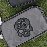 Complete Set Of Clubs Skull 26 Skeleton Golf Ball Bag Sports Men Women Clutch Small Handbag Coin Purse Storage