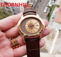 Genuine Leather Buckle Mens Watch Fully Automatic Mechanical Watches 45mm 316L Stainless Steel Case Waterproof Design Wristwatch Gift Wristwatches Montre De Luxe