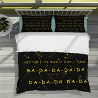 Popular singing stars in Europe and America Billie Eilish 3D Printing Colorful Bedding Sets Duvet Cover-31