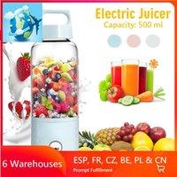 Juicers 500ML 4000mAh Vitamin Portable Smoothie Blender Mini USB Mixer Electric Juicer Charging Vitamer Fruit