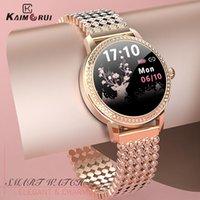 Luxury men's and women's watches Designer brand watches s femmes belle de Sport en acier IP68 tanche Fitness bracelet frquence cardiaque