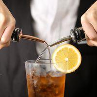 Bar Tools stainless steel wine bottle pourer bar liquor flow spout stopper Rubber spirit pourers Barware DWB8913