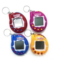 Mascotas de alta calidad Tamagotchi Tamagotchi Máquina de juegos nostálgica Virtual Digital Electronic Pet Toys A Handheld Pet-Forming Games Console DHL gratis