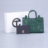 Groothandel Top Designer Telfar Tassen Womens Portemonnee Tote Handtassen Mode Stijl Luxe Tas PU Lederen Hoge Kwaliteit Telfarr Handtas C99
