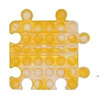 조합 팝 팝 포장 감각 푸시 장난감, 불안 - 완화 게임, 적절한 성인 및 특별한 필요가있는 어린이 Aha5011