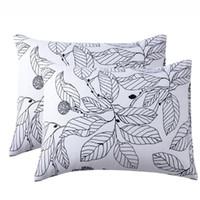 Cilected 2 Adet Retro Çiçek Yastık Örtüsü Ev Malzemeleri Yastık Kılıfı Yatak Odası Dekorasyon Rahat Fırçalanmış Yastıklar Kanepe Dekoru Yastık / Aralık