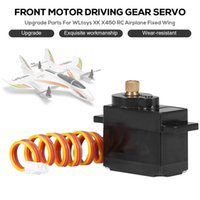 Original Wltoys Xk X450 Front Motor Driving Servo With Metal Gear Upgrade Parts For Wltoys Xk X450 Rc Airplane Aircraft Accessor