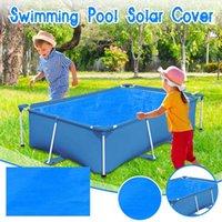 بركة الاكسسوارات حماية السباحة غطاء العزل الحراري السينما مربع نفخ حصيرة # 4